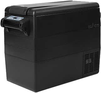 Glacio 35-55L Car Fridge 10°C to -18°C Cooler Freezer 12V/24V/240/ DC/AC