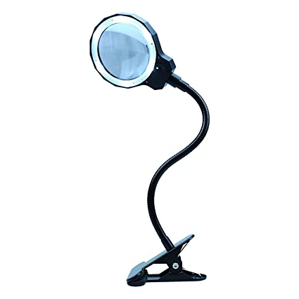98bad172f7 Lente d' ingrandimento 3 x con luce diurna LED lente d' ingrandimento  lampada ricaricabile