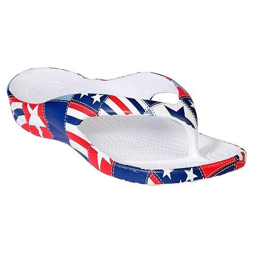 4a1ab7d14e59 DAWGS Kids  Loudmouth Flip Flops - Betsy Ross