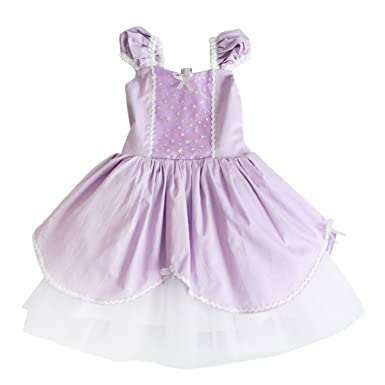 d8d8aa6ea Kids Girls Princess Costume Cosplay Party Fancy Dress Up Aurora ...