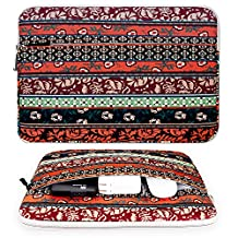 """BOVKE 13-13.3 Inch Waterproof Canvas Laptop Sleeve Case Bag Notebook Bag for MacBook Pro 13.3-inch Retina Display MacBook Air 13.3"""" Surface Book 12.9-inch iPad Pro Acer Asus Dell HP Chromebook,M1"""