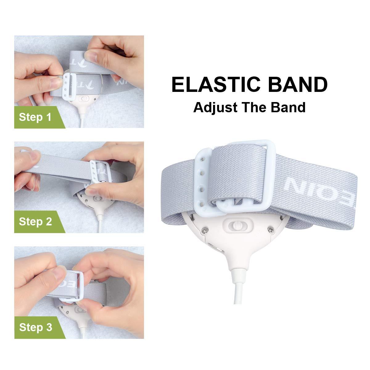 todos los ni/ños ni/ñas blanco alta capacidad Alarma de enuresis con sonido fuerte y fuerte vibraci/ón para orinales bater/ía de litio recargable entrenamiento de orinal para ni/ños 3 modos