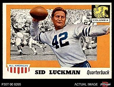 1955 Topps   85 Sid Luckman Chicago Bears (Football Card) Dean s Cards 7 - e4d742da0