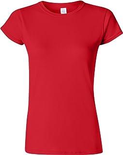 Gildan Mens SoftStyle Double-Needle T-Shirt