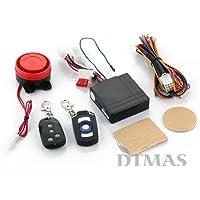 CARCHET Alarma para Moto Impermeable con Dos Mando