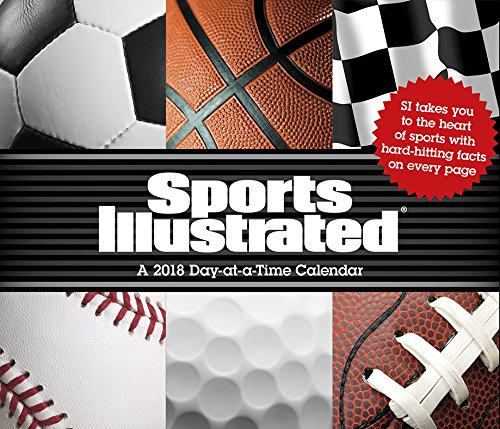 Sports Illustrated Sports 2018 Day-at-a-Time Box Calendar