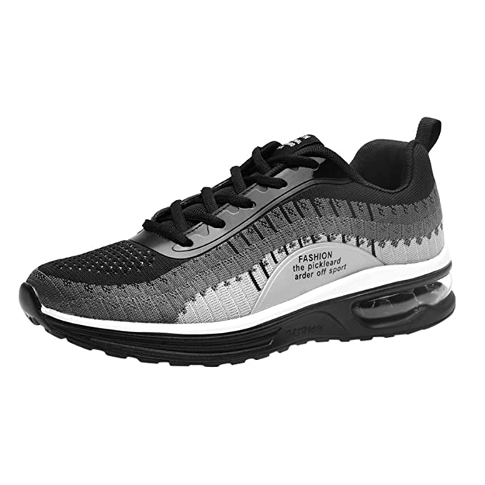 FRAUIT Zapatos de Los Hombres Al Aire Libre Zapatillas de deporte de Punto Transpirables de Fly Knit Zapatillas de Running Ultraligeras Zapatos de Playa para Hombre Zapatos de Hombre Antideslizantes: Amazon.es: Ropa