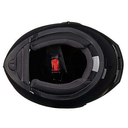 Amazon.com: JIEKAI Double Lens Helmet Modular Motorbike Helmet Flip Up Motorcycle Helmet For Motocross Racing (Large, Black): Automotive