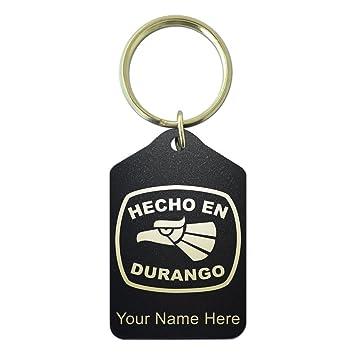 Llavero - hecho en Durango - personalizado grabado incluido ...