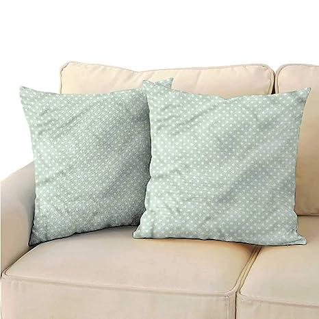 clayee Funda de cojín para sofá Home, Color Menta, Formas ...