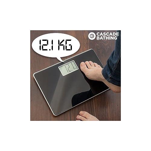 Cascade Bathing speakg–Bathroom Digital Weighing Scales with Voice