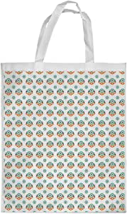Decorative drawings Printed Shopping bag, Small Size