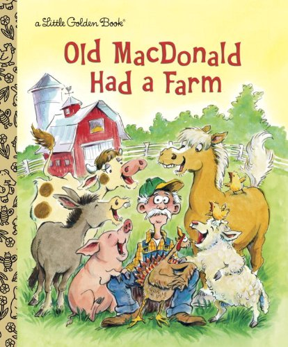 MacDonald Farm Little Golden Book product image