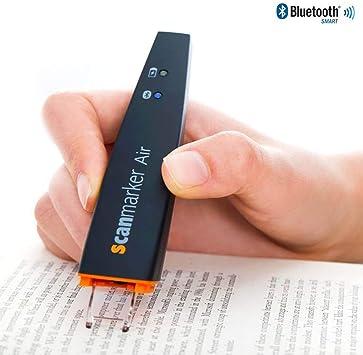 Scanmarker Air Pen Scanner Ocr Digital Highlighter Und Reader Schwarz Kaemma Bürobedarf Schreibwaren