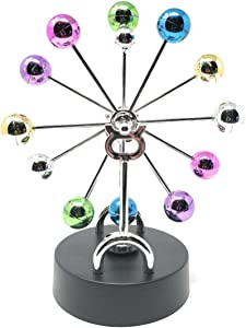 THY COLLECTIBLES Kinetic Art Asteroid - Electronic Perpetual Motion desk toy Home Office Decoration Ferris Sky Wheel