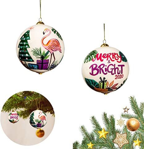 Christmas  in July Embroidered Fabric Xmas ball Christmas ornaments tree decorations baubles tree toy New year gifts Christmas tree ball