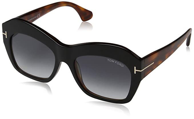 f87596cd2d32e Image Unavailable. Image not available for. Color  Tom Ford Womens Women s  Emmanuelle 54Mm Sunglasses