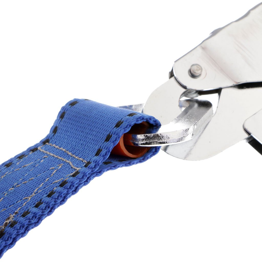 Baosity Adjustable Climbing Roofing Safety Harness Belt Lanyard for Fall Protection Rescue Service Blue by Baosity (Image #5)