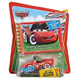 Disney / Pixar CARS Movie 2009 Collector's Guide with Exclusive 1:55 Die Cast Night Vision Lightning McQueen