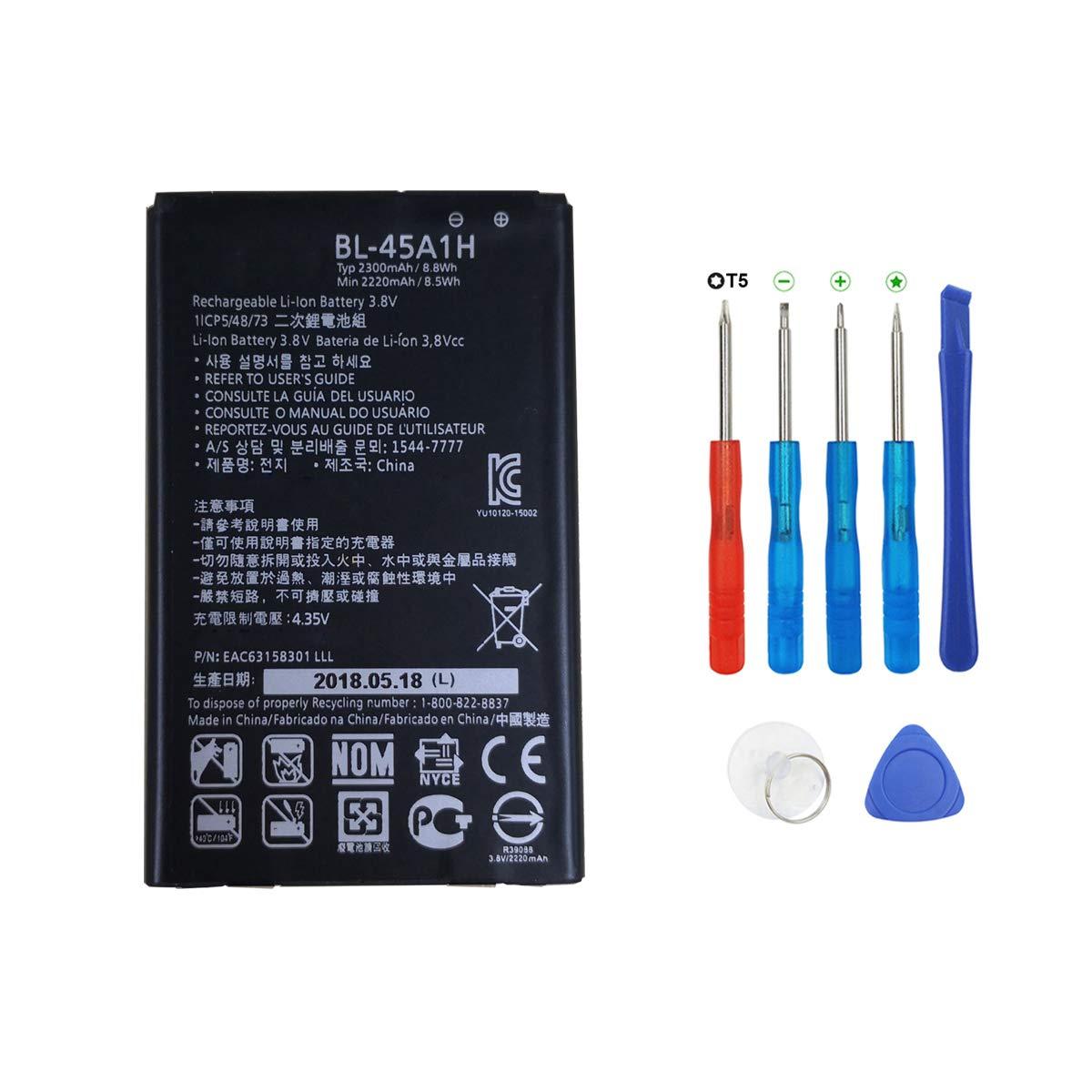 Bateria Celular Swark BL 45A1H Compatible con LG K10 LTE F670L F670K F670S Q10 K420N + Herramientas