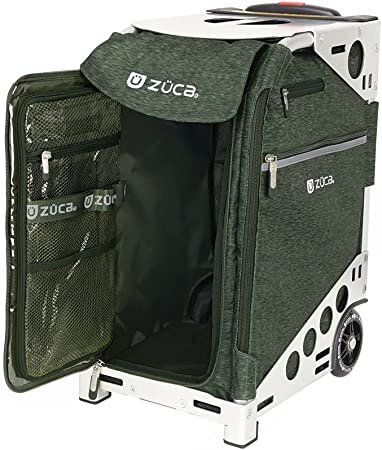 Obsidian Sport Insert Bag with Your Choice of Frame ZUCA Rolling Suitcase