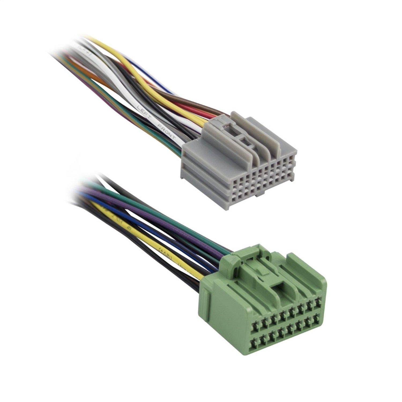 Metra Electronics 71-2107 OEM Radio Harness Plugs Into Factory ...
