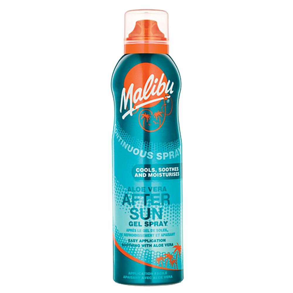 Malibu After Sun Gel Spray, Aloe Vera MBG530