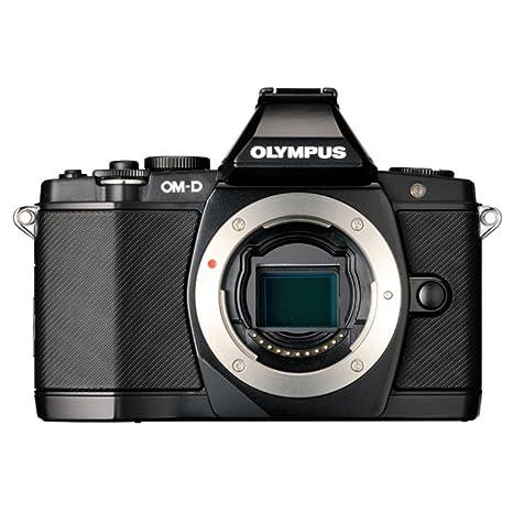 Olympus OM-D E-M5 - Cámara Evil (sólo Cuerpo, Sensor Live Mos 4/3 ...