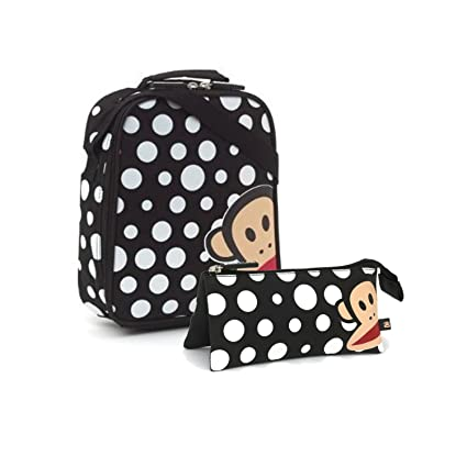 Paul Frank blanco y negro de lunares diseño de bolsa para el ...