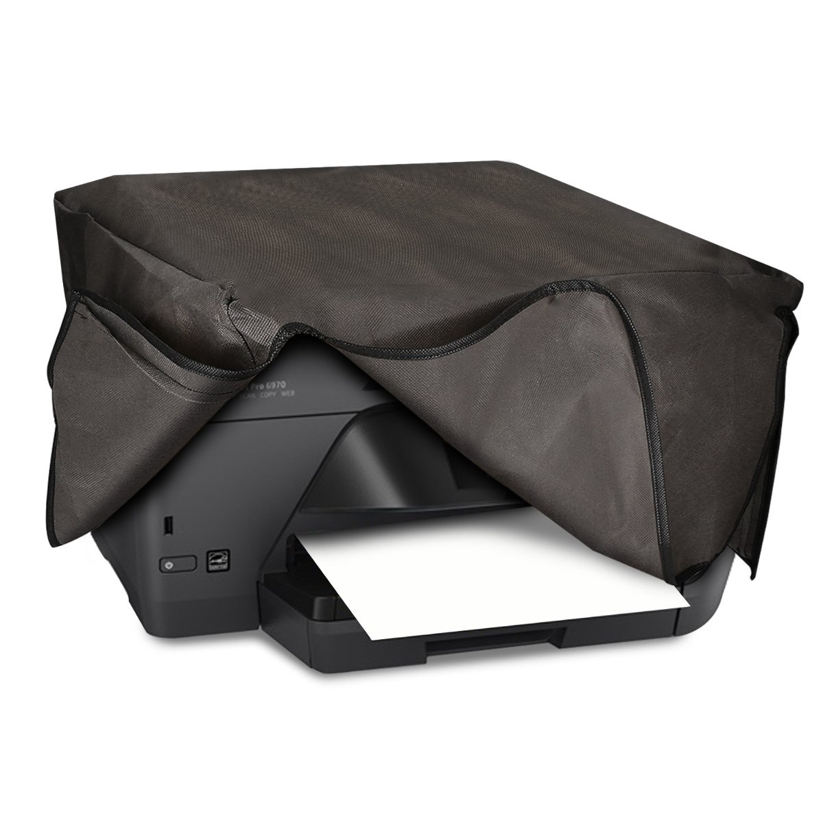 kwmobile Dust Cover for HP OfficeJet Pro 6000series - Printer Dust Protector in Dark Grey