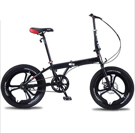 KNFBOK Bicicletas montaña Adulto Bicicleta Plegable súper Liviana ...