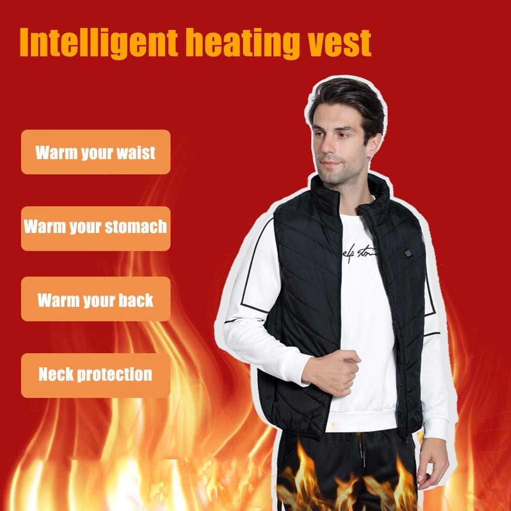 Heated Vest for Men Women Lightweight sleeveless Via Heated Jacket Warm Coat