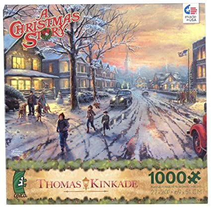 thomas kinkade a christmas story puzzle by ceaco - When Was Christmas Story Made