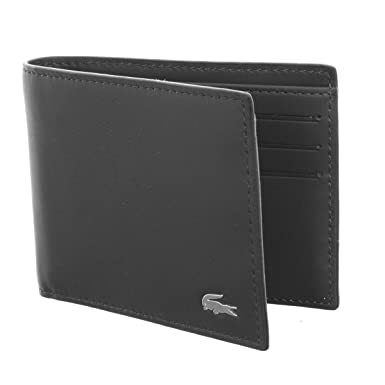 7e02c9fb8 Lacoste - Wallets - Men - NH1116 Black Wallet and Key Ring Set for men -  TU  Amazon.co.uk  Clothing