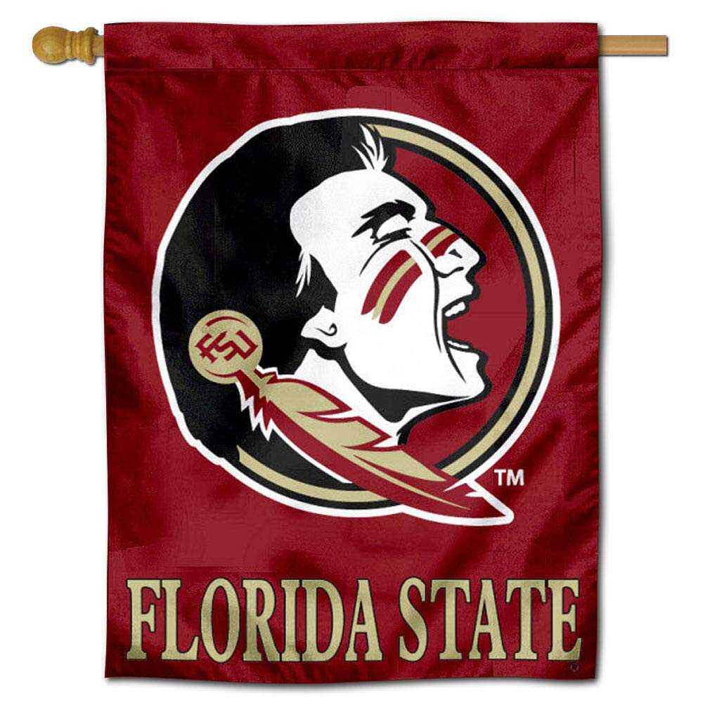 College Flags and Banners Co Florida State University Seminoles House Flag