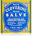 White Cloverine Salve, White Petrolatum Skin Protectant, 1 oz (28.4 g) (Pack of 6)