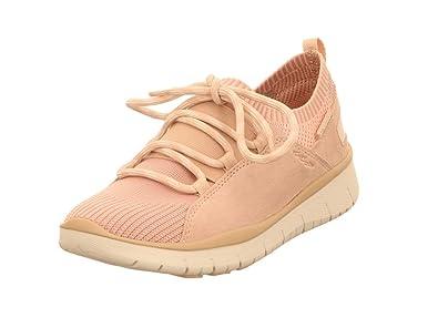 Allrounder by Mephisto Damen Lets Go Slip On Sneaker, Pink (Rose Dust), 42 EU