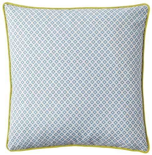 Serena & Lily Cut Circle Dec Pillow Cover- Aqua