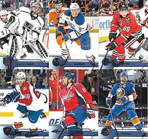 2016-2017-upper-deck-nhl-hockey-series-one-complete-mint-basic-hand-collated-200-card-veteran-player