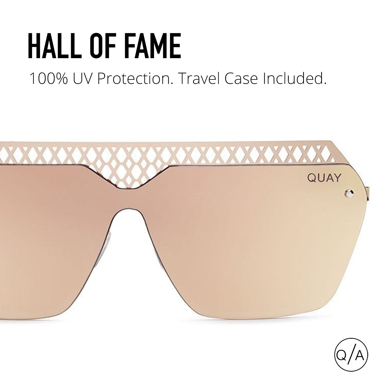 281197917c590 Amazon.com  Quay Women s Hall of Fame Sunglasses