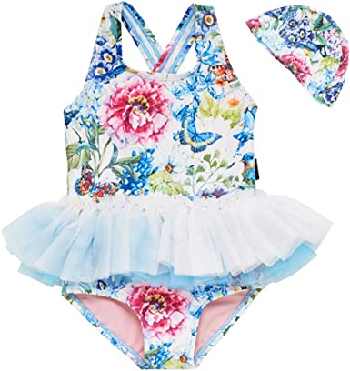 Outique Sun Protective Swimwear,Baby Infant Girl Kids Mermaid Swimwear Bikini Swimsuit Beachwear Clothes Set