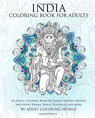 India Coloring Book Adults Including product image