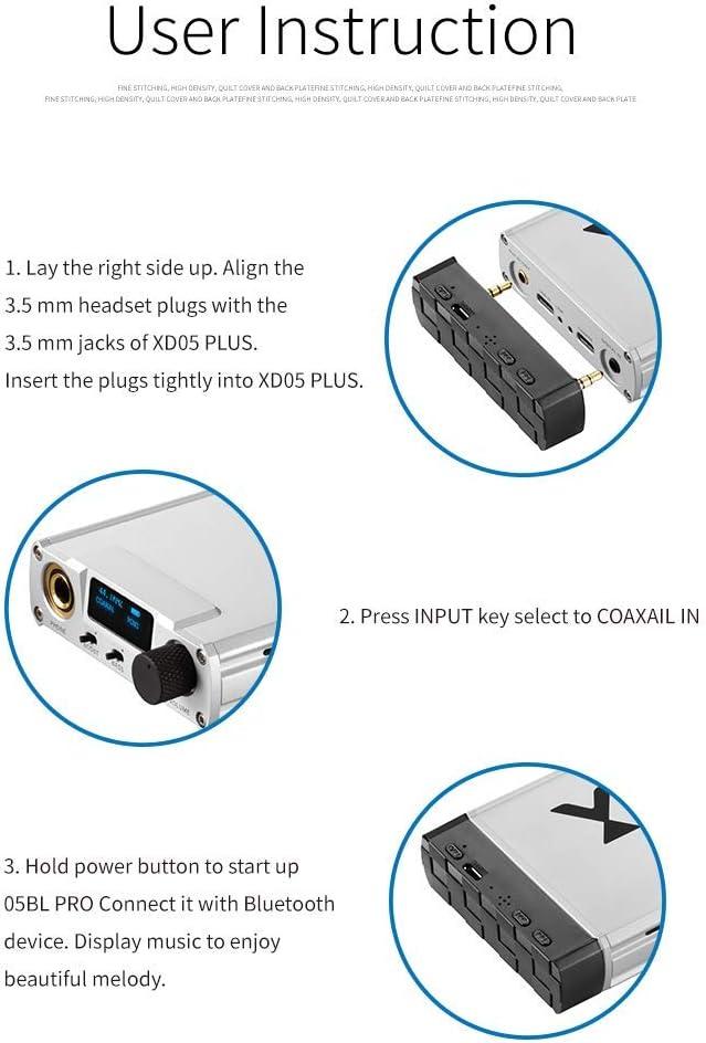 Amazon.com: Linsoul xDuoo XD-05BL Pro Bluetooth 5.0 CSR APTX ...