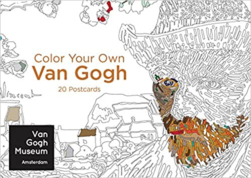Amazon.com: Color Your Own Van Gogh 20 Postcards (9780062571885): Van Gogh  Museum Amsterdam: Books