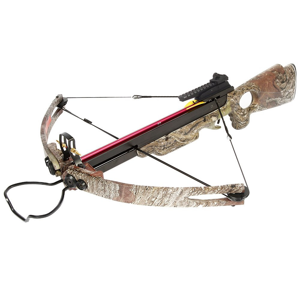 150 lb Desert Camouflage Camo Hunting Compound Crossbow Archery Bow +Rail Lube +8 Bolts/Arrows 180 175 80 50