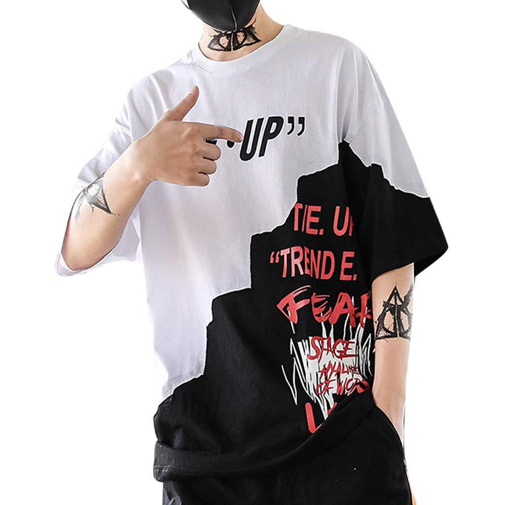 Blusa de mujer, unisex, para verano, informal, estilo hip hop, con ...