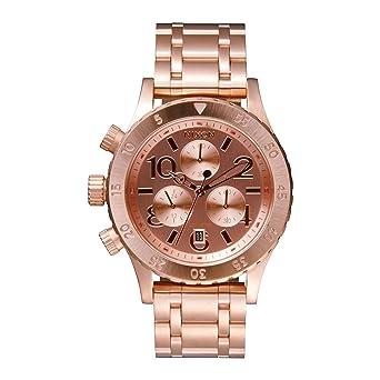 Nixon A404-1044 Ladies The 38-20 Chrono Rose Gold Watch