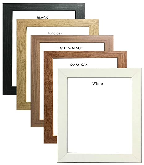 Square Photo Frames Picture Frames Poster Frames Wood Effect In ...
