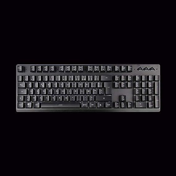 Amazon.com: Nrpfell P010 Backlight Gaming Keyboard Teclado Gamer Floating Led Backlit USB with Similar Mechanical Feel Multi-Language Support: Electronics