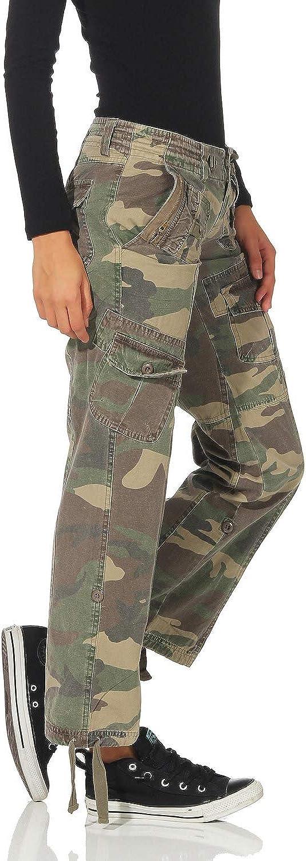 Mujer Fy Pantalon Mujer Pantalones De Camuflaje Ejercito Pantalones Casuales Pantalones De Mezclilla Tarnlook Vintage Ropa Brandknewmag Com